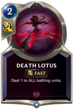 Death Lotus Legends of Runeterra