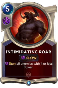 Intimidating Roar Legends of Runeterra