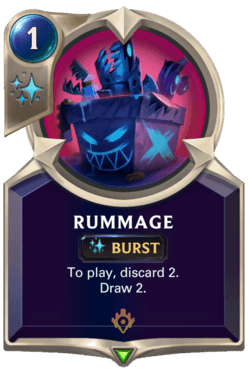 Rummage Legends of Runeterra
