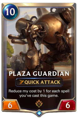 Plaza Guardian Legends of Runeterra