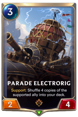 Parade Electrorig Legends of Runeterra