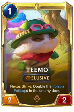 Teemo 2 Legends of Runeterra