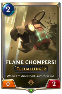 Flame Chompers! Legends of Runeterra