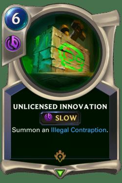 Unlicensed Innovation Legends of Runeterra