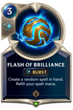 Flash of Brilliance Legends of Runeterra