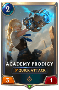 Academy Prodigy Legends of Runeterra
