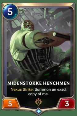 Midenstokke Henchmen Legends of Runeterra
