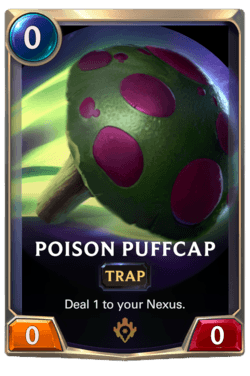 Poison Puffcap Legends of Runeterra