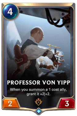 Professor von Yipp Legends of Runeterra