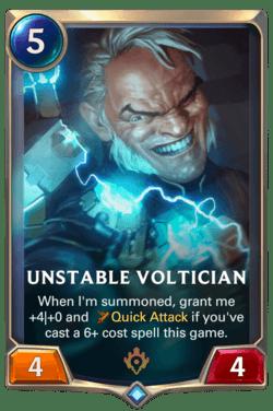 Unstable Voltician Legends of Runeterra