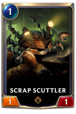 Scrap Scuttler Legends of Runeterra