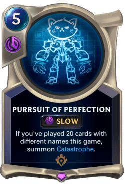 Purrsuit of Perfection Legends of Runeterra