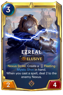 Ezreal 2 Legends of Runeterra