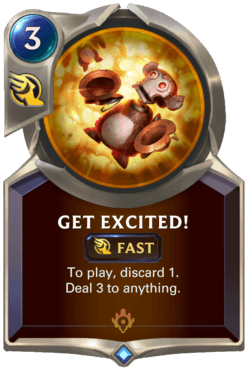 Get Excited! Legends of Runeterra