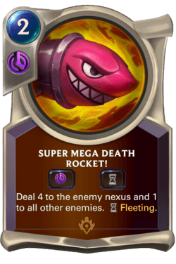Super Mega Death Rocket! Legends of Runeterra