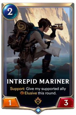 Intrepid Mariner Legends of Runeterra