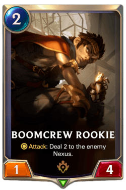 Boomcrew Rookie Legends of Runeterra