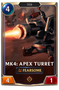 Mk4: Apex Turret Legends of Runeterra