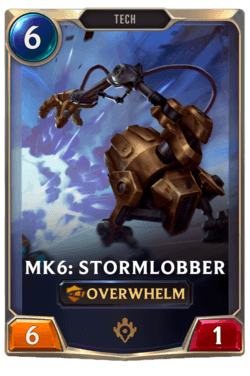 Mk6: Stormlobber Legends of Runeterra
