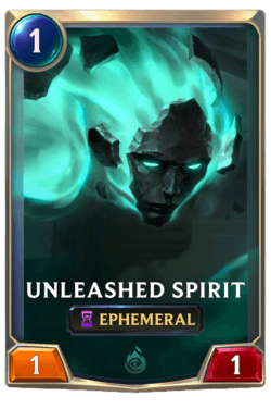 Unleashed Spirit Legends of Runeterra