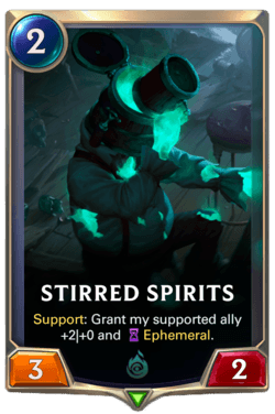 Stirred Spirits Legends of Runeterra