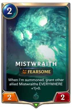 Mistwraith Legends of Runeterra