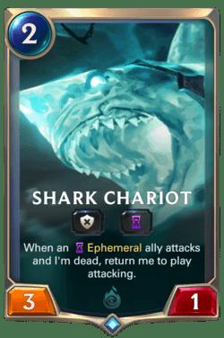 Shark Chariot Legends of Runeterra