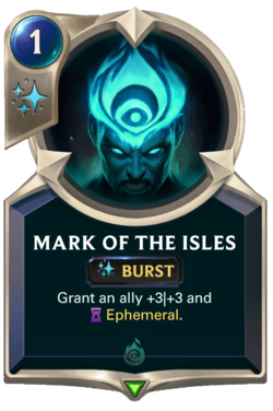Mark of the Isles Legends of Runeterra