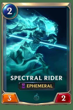 Spectral Rider Legends of Runeterra