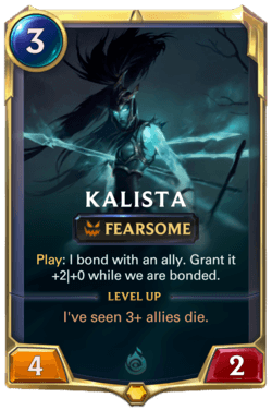 Kalista Legends of Runeterra