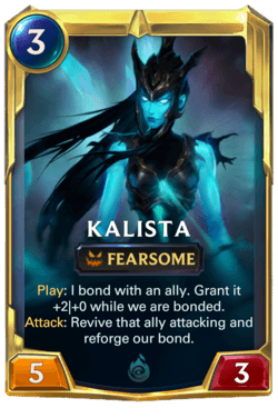 Kalista 2 Legends of Runeterra