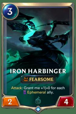 Iron Harbinger Legends of Runeterra