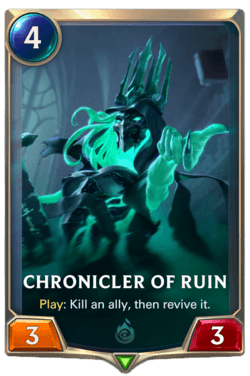 Chronicler of Ruin Legends of Runeterra