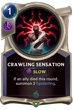 Crawling Sensation Legends of Runeterra