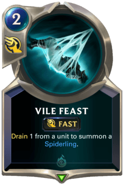 Vile Feast Legends of Runeterra
