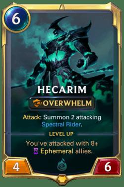 Hecarim Legends of Runeterra