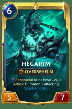 Hecarim 2 Legends of Runeterra