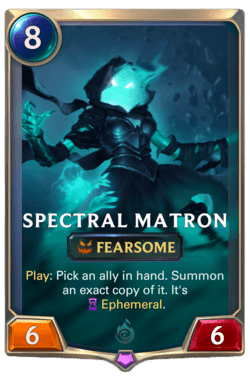 Spectral Matron Legends of Runeterra