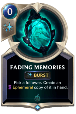 Fading Memories Legends of Runeterra