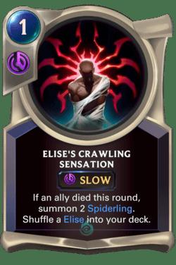 Elise's Crawling Sensation Legends of Runeterra