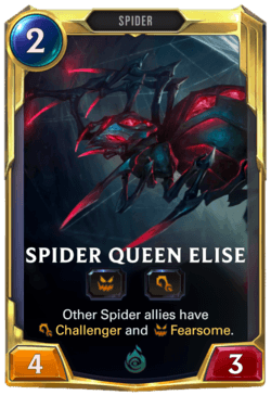 Spider Queen Elise Legends of Runeterra