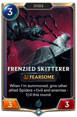Frenzied Skitterer Legends of Runeterra