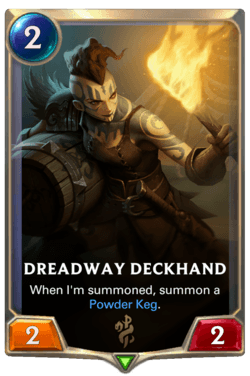 Dreadway Deckhand Legends of Runeterra