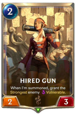 Hired Gun Legends of Runeterra