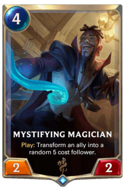 Mystifying Magician Legends of Runeterra