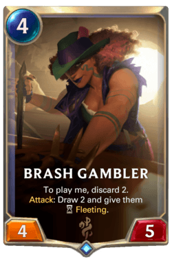 Brash Gambler Legends of Runeterra