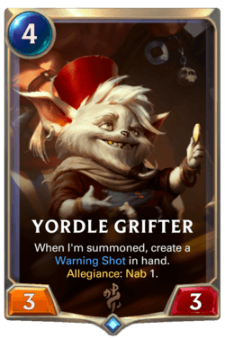 Yordle Grifter Legends of Runeterra