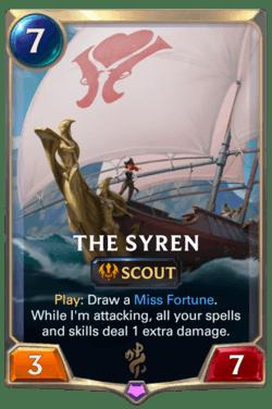 The Syren Legends of Runeterra