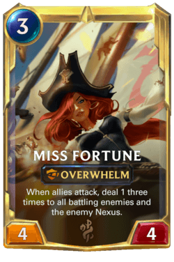 Miss Fortune 2 Legends of Runeterra