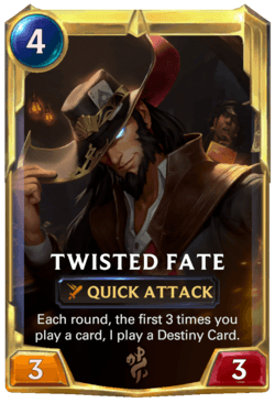 Twisted Fate 2 Legends of Runeterra